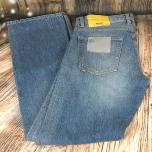 WESC 5 pocket button fly jeans 30 x 34